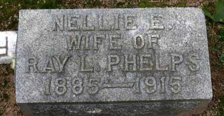 PHELPS, NELLIE E. - Erie County, Ohio | NELLIE E. PHELPS - Ohio Gravestone Photos