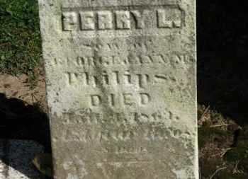 PHILIPS, GEORGE - Erie County, Ohio | GEORGE PHILIPS - Ohio Gravestone Photos