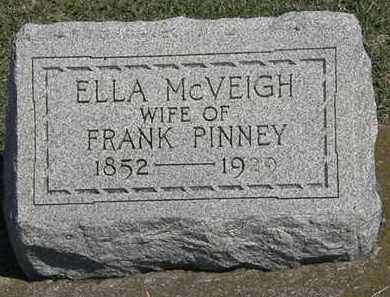 PINNEY, ELLA - Erie County, Ohio | ELLA PINNEY - Ohio Gravestone Photos