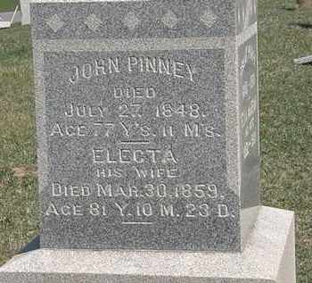 PINNEY, JOHN - Erie County, Ohio   JOHN PINNEY - Ohio Gravestone Photos