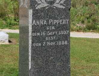 PIPPERT, ANNA - Erie County, Ohio | ANNA PIPPERT - Ohio Gravestone Photos