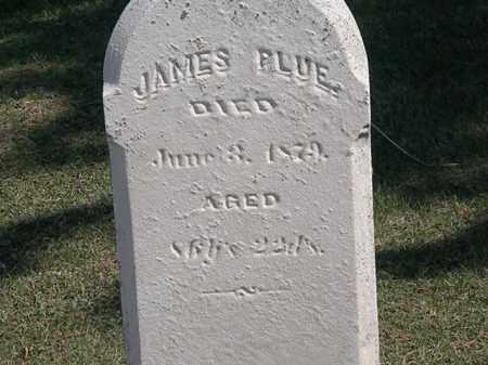 PLUE, JAMES - Erie County, Ohio | JAMES PLUE - Ohio Gravestone Photos