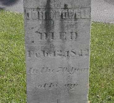 POWELL, JOHN - Erie County, Ohio | JOHN POWELL - Ohio Gravestone Photos
