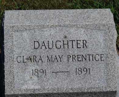 PRENTICE, CLARA MAY - Erie County, Ohio   CLARA MAY PRENTICE - Ohio Gravestone Photos