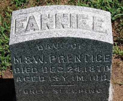 PRENTICE, M. - Erie County, Ohio | M. PRENTICE - Ohio Gravestone Photos