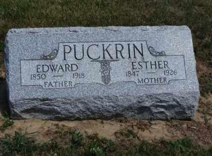 PUCKRIN, EDWARD - Erie County, Ohio   EDWARD PUCKRIN - Ohio Gravestone Photos