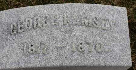 RAMSEY, GEORGE - Erie County, Ohio | GEORGE RAMSEY - Ohio Gravestone Photos