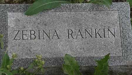 RANKIN, ZEBINA - Erie County, Ohio | ZEBINA RANKIN - Ohio Gravestone Photos