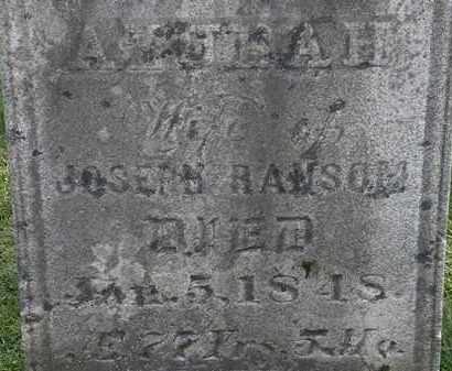 RANSOM, JOSEPH - Erie County, Ohio | JOSEPH RANSOM - Ohio Gravestone Photos