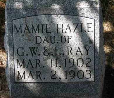 RAY, G.W. - Erie County, Ohio | G.W. RAY - Ohio Gravestone Photos