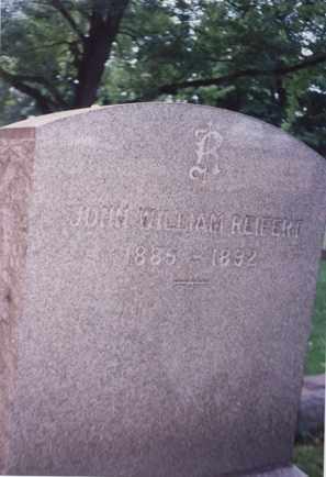REIFERT, JOHN WILLIAM - Erie County, Ohio | JOHN WILLIAM REIFERT - Ohio Gravestone Photos