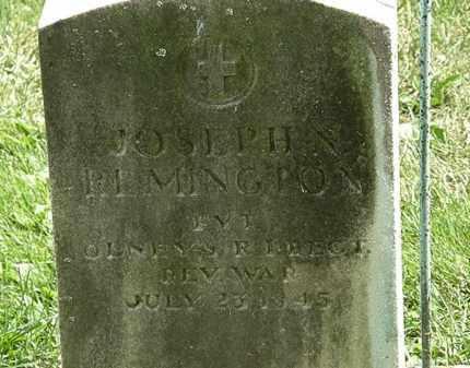 REMINGTON, JOSEPH N. - Erie County, Ohio | JOSEPH N. REMINGTON - Ohio Gravestone Photos