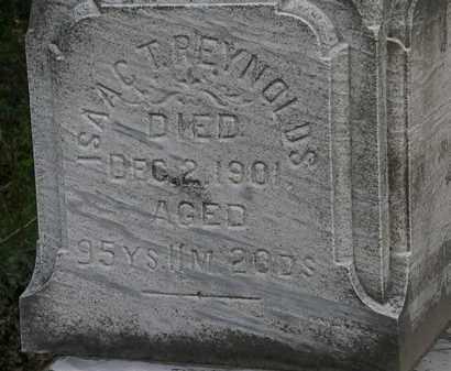 REYNOLDS, ISAAC T. - Erie County, Ohio | ISAAC T. REYNOLDS - Ohio Gravestone Photos