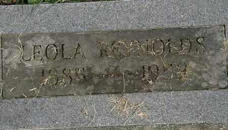 REYNOLDS, LEOLA - Erie County, Ohio   LEOLA REYNOLDS - Ohio Gravestone Photos