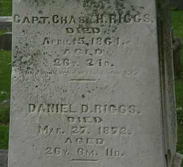 RIGGS, CHAS. H. - Erie County, Ohio | CHAS. H. RIGGS - Ohio Gravestone Photos