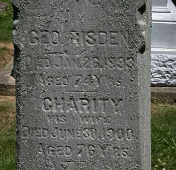 RISDEN, CHARITY - Erie County, Ohio | CHARITY RISDEN - Ohio Gravestone Photos
