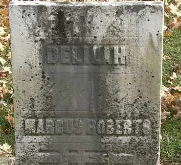 ROBERTS, MARCUS - Erie County, Ohio | MARCUS ROBERTS - Ohio Gravestone Photos
