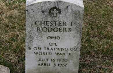 RODGERS, CHESTER T. - Erie County, Ohio | CHESTER T. RODGERS - Ohio Gravestone Photos
