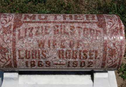 GILSTORF RODISEL, LIZZIE - Erie County, Ohio   LIZZIE GILSTORF RODISEL - Ohio Gravestone Photos