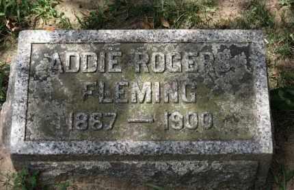ROGERS, ADDIE - Erie County, Ohio | ADDIE ROGERS - Ohio Gravestone Photos