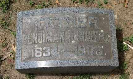 ROGERS, BENJIMAN H. - Erie County, Ohio   BENJIMAN H. ROGERS - Ohio Gravestone Photos
