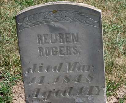 ROGERS, REUBEN - Erie County, Ohio | REUBEN ROGERS - Ohio Gravestone Photos