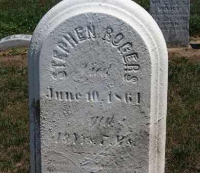 ROGERS, STEPHEN - Erie County, Ohio | STEPHEN ROGERS - Ohio Gravestone Photos