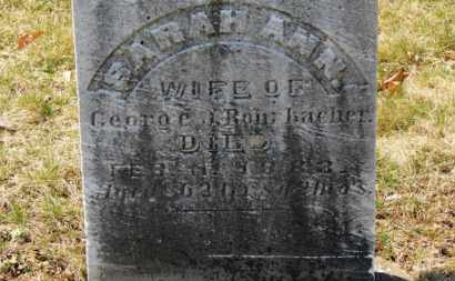 ROHRBACHER, GEORGE J. - Erie County, Ohio | GEORGE J. ROHRBACHER - Ohio Gravestone Photos