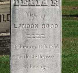 ROOD, LANDON - Erie County, Ohio   LANDON ROOD - Ohio Gravestone Photos