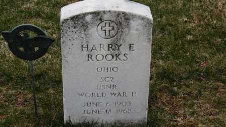 ROOKS, HARRY E. - Erie County, Ohio   HARRY E. ROOKS - Ohio Gravestone Photos
