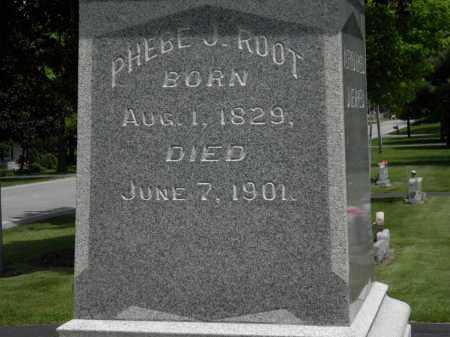 ROOT, PHEBE J. - Erie County, Ohio   PHEBE J. ROOT - Ohio Gravestone Photos