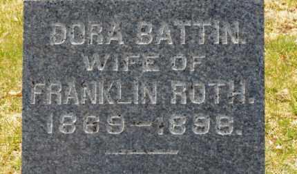 ROTH, DORA - Erie County, Ohio | DORA ROTH - Ohio Gravestone Photos