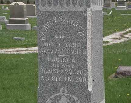 SANDERS, HARVEY - Erie County, Ohio | HARVEY SANDERS - Ohio Gravestone Photos