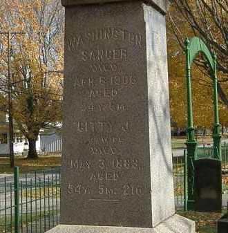SANGER, WASHINGTON - Erie County, Ohio | WASHINGTON SANGER - Ohio Gravestone Photos
