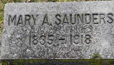 SAUNDERS, MARY A. - Erie County, Ohio | MARY A. SAUNDERS - Ohio Gravestone Photos