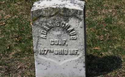 SCHAUB, ADAM - Erie County, Ohio | ADAM SCHAUB - Ohio Gravestone Photos