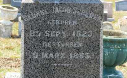SCHERER, GEORGE JACOB - Erie County, Ohio | GEORGE JACOB SCHERER - Ohio Gravestone Photos