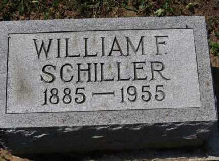 SCHILLER, WILLIAM F. - Erie County, Ohio | WILLIAM F. SCHILLER - Ohio Gravestone Photos