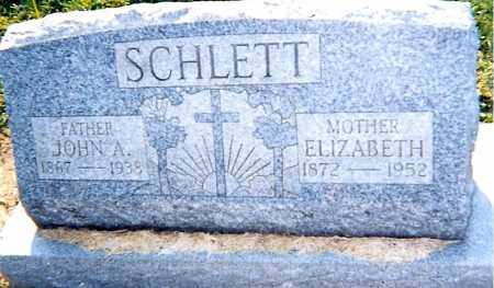 SCHLETT,, ELIZABETH - Erie County, Ohio | ELIZABETH SCHLETT, - Ohio Gravestone Photos