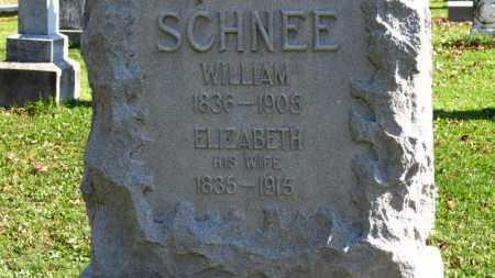 SCHNEE, ELIZABETH - Erie County, Ohio   ELIZABETH SCHNEE - Ohio Gravestone Photos