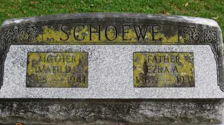 SCHOEWE, EZRA A. - Erie County, Ohio | EZRA A. SCHOEWE - Ohio Gravestone Photos
