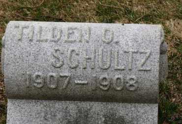 SCHULTZ, TILDEN O. - Erie County, Ohio | TILDEN O. SCHULTZ - Ohio Gravestone Photos