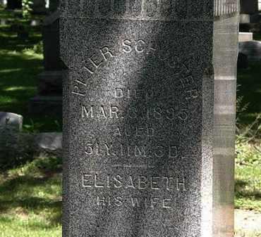 SCHUSTER, ELISABETH - Erie County, Ohio | ELISABETH SCHUSTER - Ohio Gravestone Photos