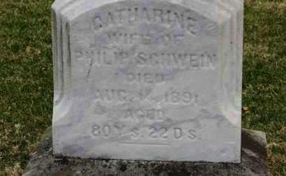 SCHWEIN, CATHARINE - Erie County, Ohio | CATHARINE SCHWEIN - Ohio Gravestone Photos