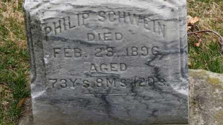 SCHWEIN, PHILIP - Erie County, Ohio | PHILIP SCHWEIN - Ohio Gravestone Photos