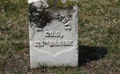 SCOTT, LU???? - Erie County, Ohio   LU???? SCOTT - Ohio Gravestone Photos