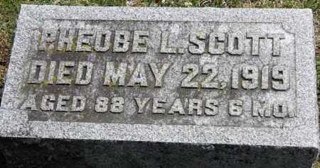 SCOTT, PHOEBE L. - Erie County, Ohio | PHOEBE L. SCOTT - Ohio Gravestone Photos