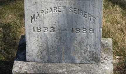 SEIBERT, MARGARET - Erie County, Ohio | MARGARET SEIBERT - Ohio Gravestone Photos