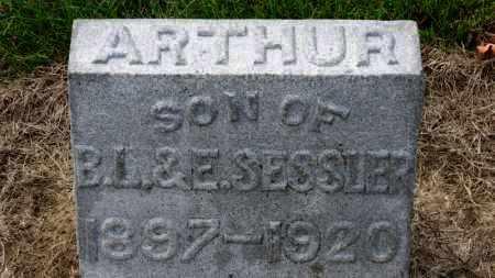 SESSLER, ARTHUR - Erie County, Ohio   ARTHUR SESSLER - Ohio Gravestone Photos