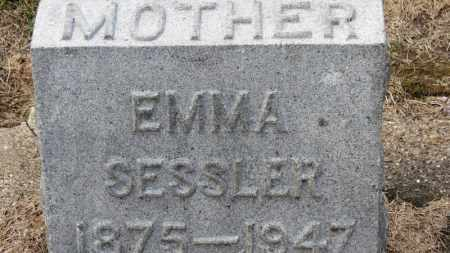 SESSLER, EMMA - Erie County, Ohio | EMMA SESSLER - Ohio Gravestone Photos